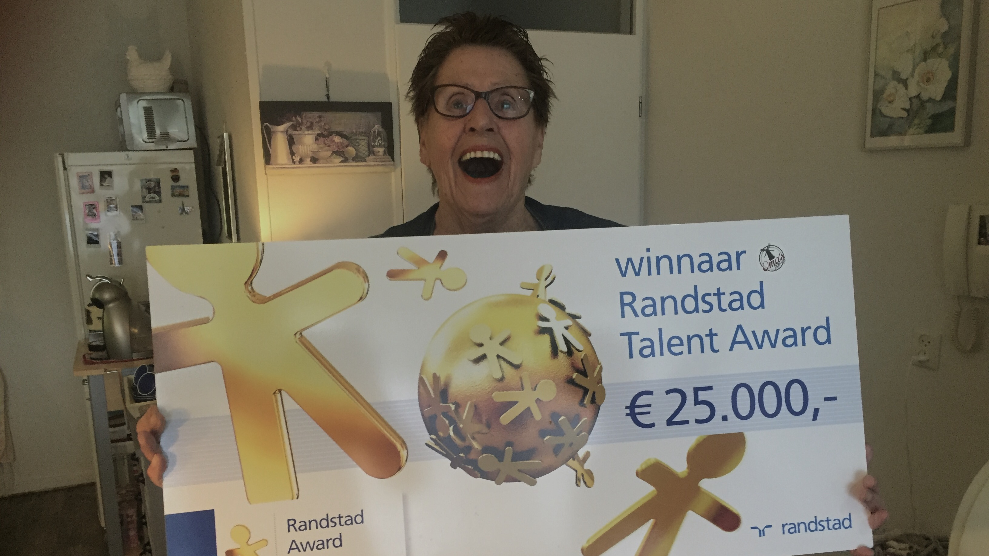 Mark Hendriks Randstad Talent Award